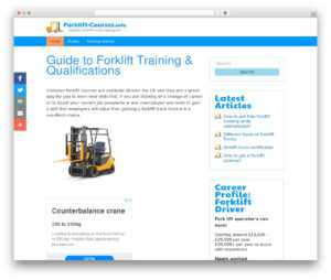 WordPress Uikit Starter Theme WordPress Website Template within Forklift Certification Template