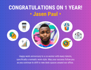 Work Anniversary Certificate Template with Anniversary Certificate Template Free