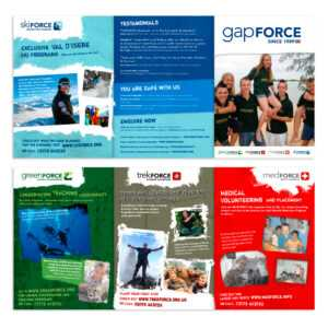 Young Gap Year Global Volunteer A5 Flyer Needed | 8 Brochure pertaining to Volunteer Brochure Template