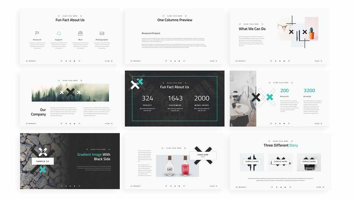 Zeen Aesthetic Free Powerpoint Template – Powerpointify Throughout Presentation Zen Powerpoint Templates
