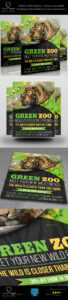 Zoo Flyer Graphics, Designs & Templates From Graphicriver with regard to Zoo Brochure Template